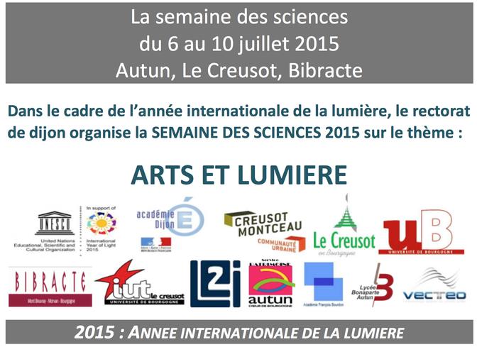 Retour Sur La Semaine Des Sciences 2015 Culture Scientifique